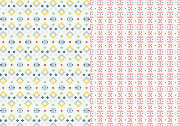 Motif Abstract Pattern - Free vector #390027