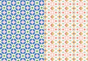 Decorative Mosaic Pattern - vector gratuit #390037