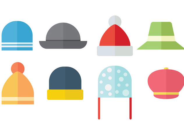 Free Bonnet Icons Vector - Kostenloses vector #390267