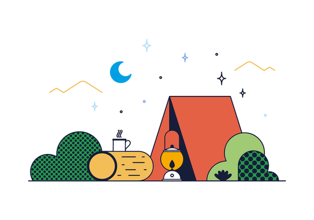 Free Camp Vector - Free vector #390287