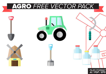 Agro Free Vector Pack - vector gratuit #390387