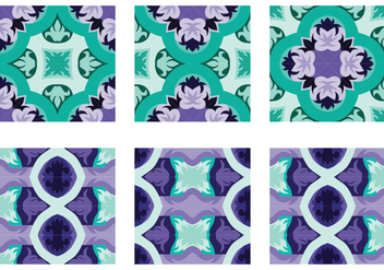 Decorative Portuguesse Tile Vector - Free vector #390657