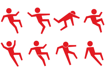 Slippery People Icon - Kostenloses vector #390687