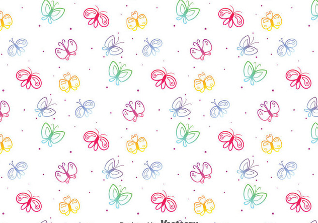 Colorful Butterfly Pattern Free Vector Download 40 CannyPic Interesting Butterfly Pattern