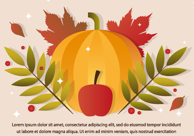 Free Thanksgiving Vector Pumpkin - Kostenloses vector #390907