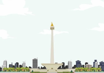 Free Monas Illustration - vector #391567 gratis