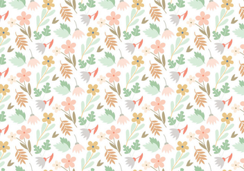 Floral Vector Pattern - Free vector #391697