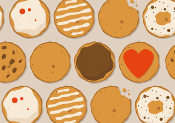 Free Cookie Vector Design - бесплатный vector #391967