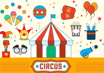 Free Circus Vector Illustrations - бесплатный vector #392027
