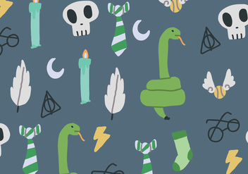 Slytherin Colors - vector gratuit #392287
