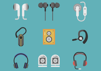 Free Headphone Vector - бесплатный vector #392397