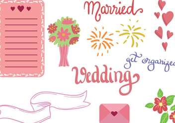 Free Wedding Vectors - vector gratuit #392647