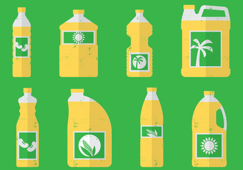 Cooking Oils - vector gratuit #393087