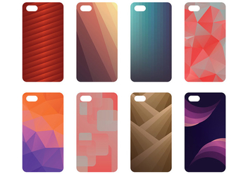 Free Phone Case Icons Vector - vector gratuit #393097