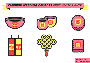Chinese Wedding Free Vector Pack - Free vector #393277