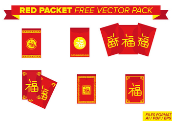 Red Packet - vector gratuit #393587