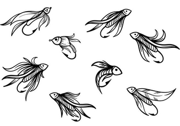 Free Fishing Lure Vector - vector gratuit #393677