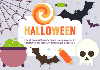Free Fun Halloween Vector Elements - бесплатный vector #393757