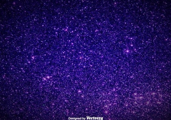 Elegant Purple Magic Dust Background - Vector Glowing Pixie Dust - vector #393907 gratis