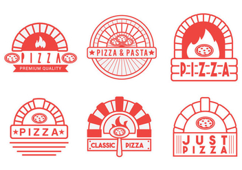 Pizza Oven Vector - Free vector #393977