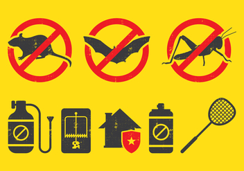 Pest Control Icon - Free vector #393987