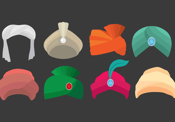 Turban Icons - Free vector #394037