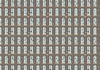 Broken Windows Pattern Vector - vector gratuit #394607