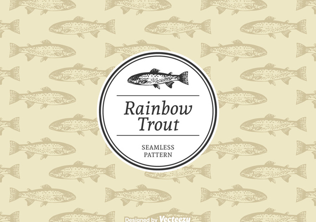 Free Rainbow Trout Vector Pattern - vector #395117 gratis