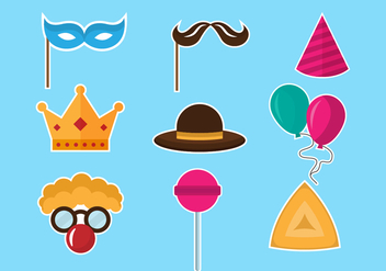 Free Purim Icon - vector #395207 gratis