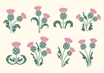 Free Thistle Vector - Free vector #395247