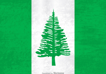 Free Vector Grunge Flag Of Norfolk Island - Free vector #395427