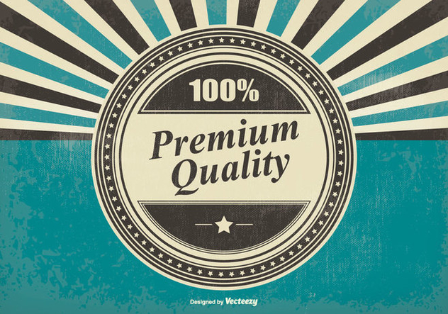 Retro Premium Quality Illustration - Kostenloses vector #396107