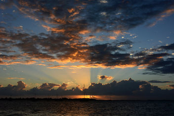 Sunset in Key Largo, Florida - Kostenloses image #396297