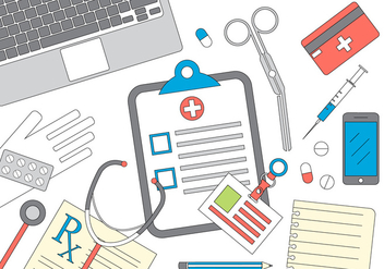 Medical Vector Illustration - Free vector #396377