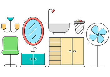 Housing Vector Icons - vector gratuit #396567