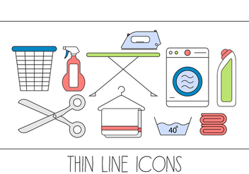 Cleaning Vector Icons - Free vector #396577