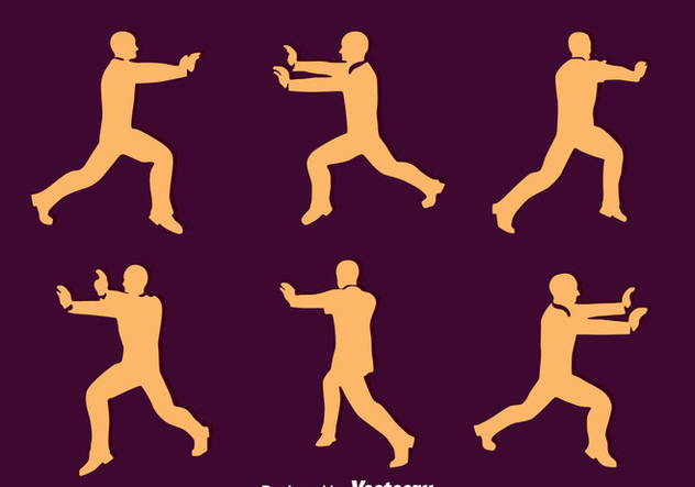 Man Pushing Silhouette Vector - vector #396687 gratis