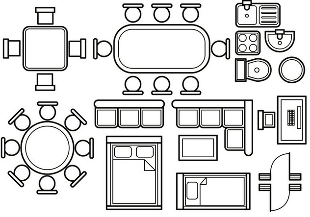 Floor Plan Vector Free Vector Download 396827 Cannypic