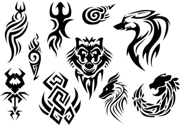 Free Pinstripes Tattoo Vector - Free vector #397237