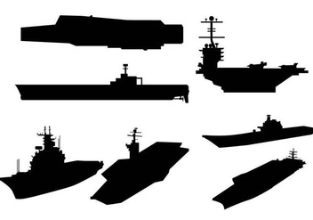 Aircraft carrier vector - бесплатный vector #397277