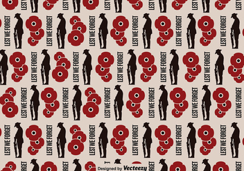 Anzac Background Seamless Pattern - Free vector #397357