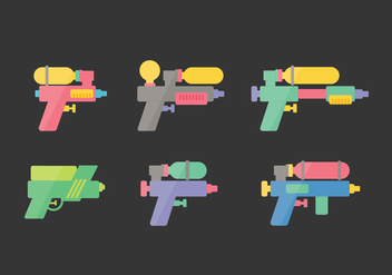 Songkran Vector Illustrations - vector #397427 gratis