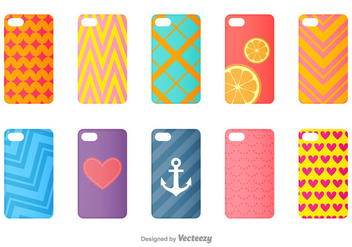 Geometric Vector Phone Cases - Free vector #397877