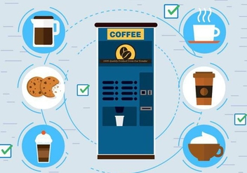 Free Vector Coffee Machine - vector #397927 gratis