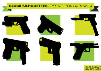 Glock Free Vector Pack Vol. 4 - vector #398087 gratis