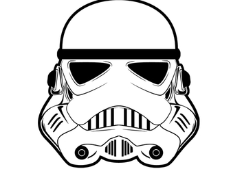 Star Wars - Storm Trooper - vector gratuit #398187