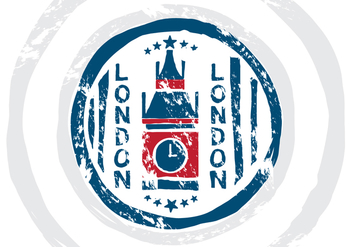 London Stempel Vector Illustration - Kostenloses vector #398357