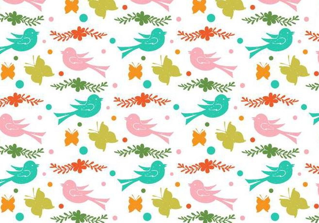 Free Vector Love Doodle Background - Kostenloses vector #398477