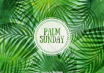 Free Palm Sunday Vector Illustration - бесплатный vector #398547