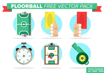 Floorball Free Vector Pack - Kostenloses vector #398927